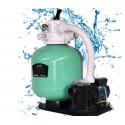 "Compect Set EBW400 16"" Sand Filter Pump 0.50 HP Flow rate 6.50 m3/h Jesta"