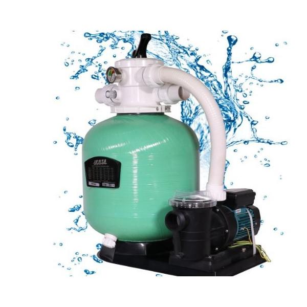 "Compect Set EBW450 18"" Sand Filter Pump 0.75 HP Flow rate7.50 m3/h Jesta"