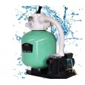 "Compect Set EBW650 25"" Sand Filter Pump 1.5 HP Jesta"
