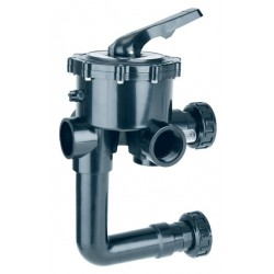 "Astralpool Multiport Valve 2"" Side Mounted 230mm"
