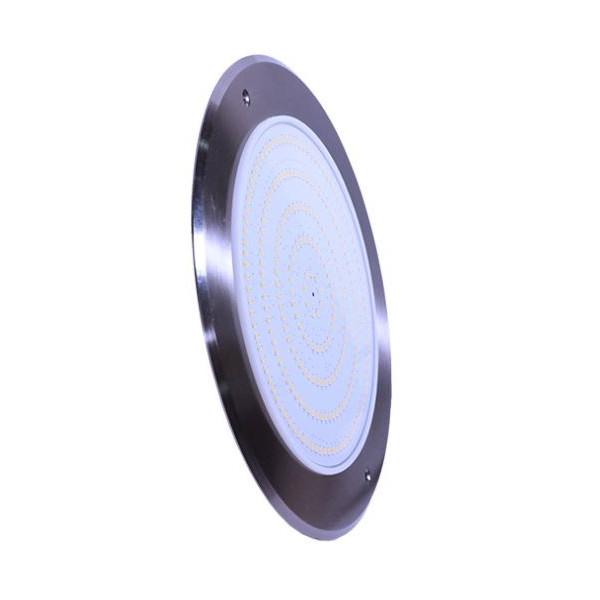 LED Light Slim Color Warm White 18W 12V DC 8 mm Stainless Steel 316 Diameter 230 mm Jesta