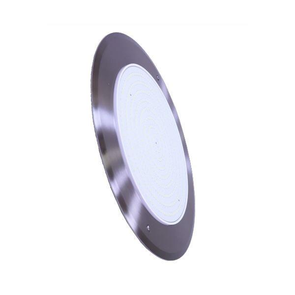 LED Light Slim Color Blue 35W 12V DC 8 mm Stainless Steel 316 Diameter 280 mm Jesta