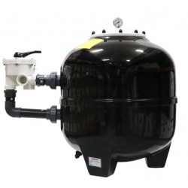 POLYESTER Side Mount Sand Filter Diameter 500 mm Multiport Valve Port Connect 1.5 Inch Flow Rate 10.00 m3h Nozbart