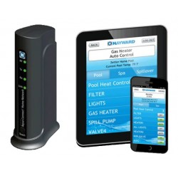 HOMENET AquaConnect Home Network, Internet and Wi-Fi remote Control Hayward
