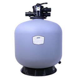 """P-DG500 21"""" Thermo Plastic Top Mount Sand Filter Flow Rate 11.50 m³/h Multiport Valve Size 1.5"""" Jesta"""