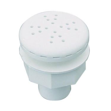 Threaded blower nozzle - White plastic front panel Astralpool