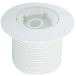 """1 1/4"""" Return inlet - White ABS front panel Astralpool"""