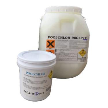 คลอรีนผง Poolchlor (T.C.C.A90%)