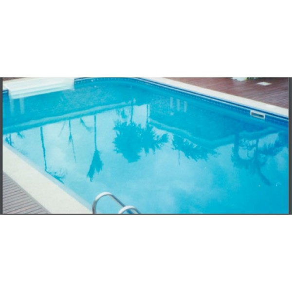 สระว่ายน้ำสำเร็จรูป 4.90x9.70x1.2M