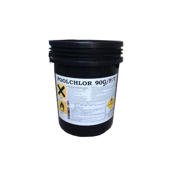 คลอรีนผงPoolchlor (TCCNa 90)CL-PC-90-P-20