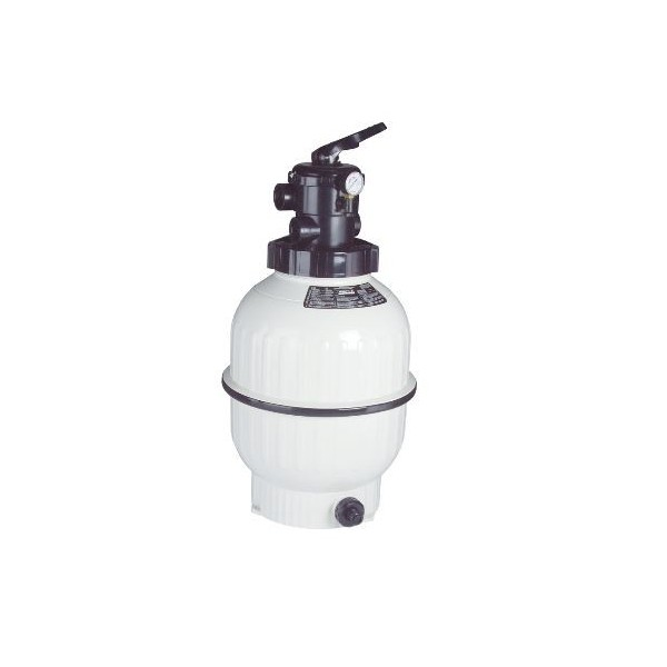 """Cantabric Sand Filter Top Mount D500 20"""" Connection 1-1/2"""" FlowRate 9 m³/hr ASTRALPOOL"""