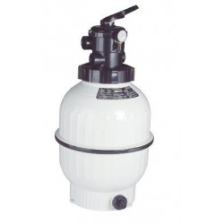 """Cantabric Sand Filter Top Mount D600 24"""" Connection 1-1/2"""" FlowRate 14 m³/hr ASTRALPOOL"""