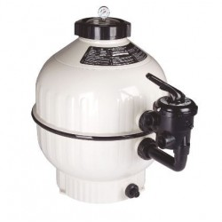 """Cantabric Sand Filter Side Mount D500 20"""" Connection 1-1/2"""" FlowRate 9 m³/hr with Multiport valve ASTRALPOOL"""