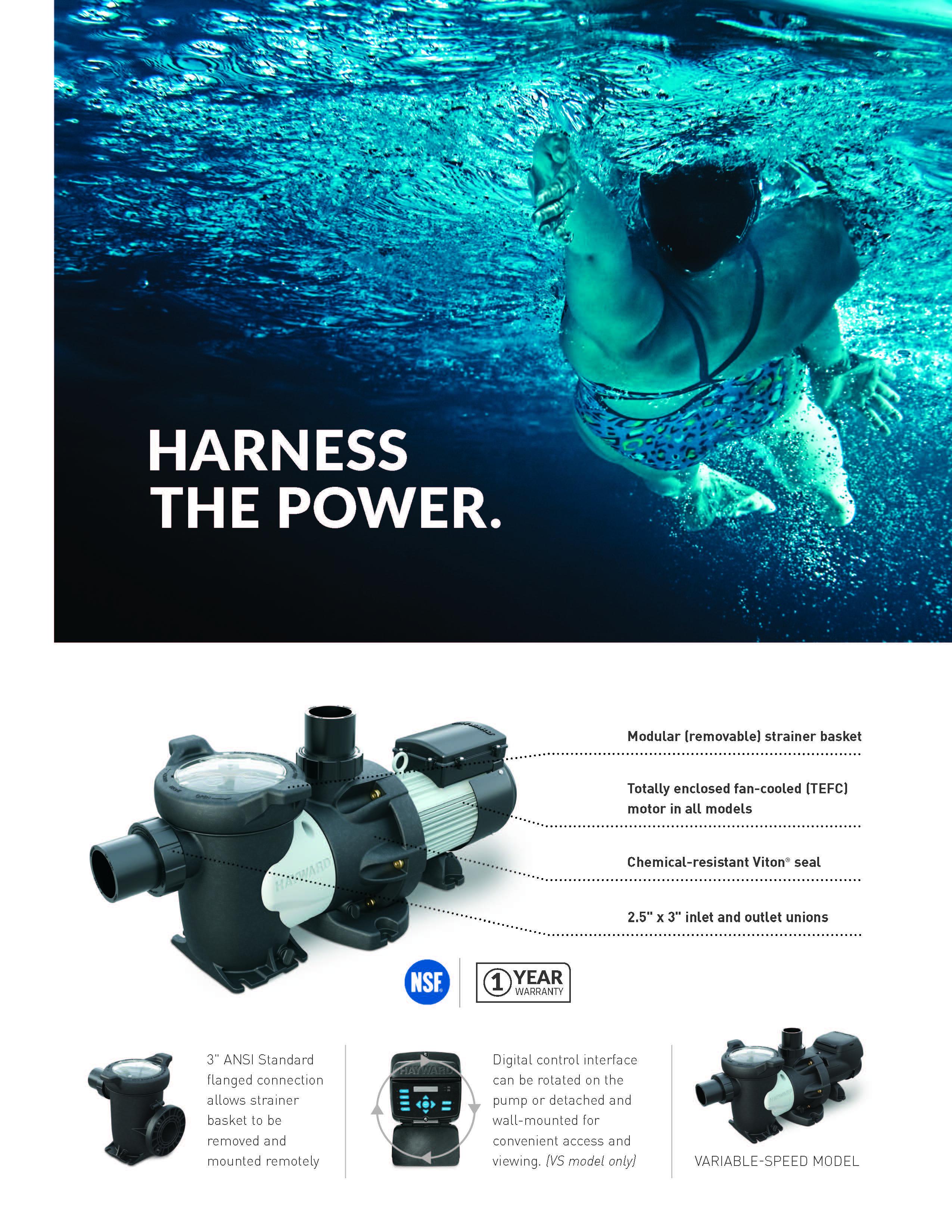 ปั๊มสระว่ายน้ำ Hayward HCP30503