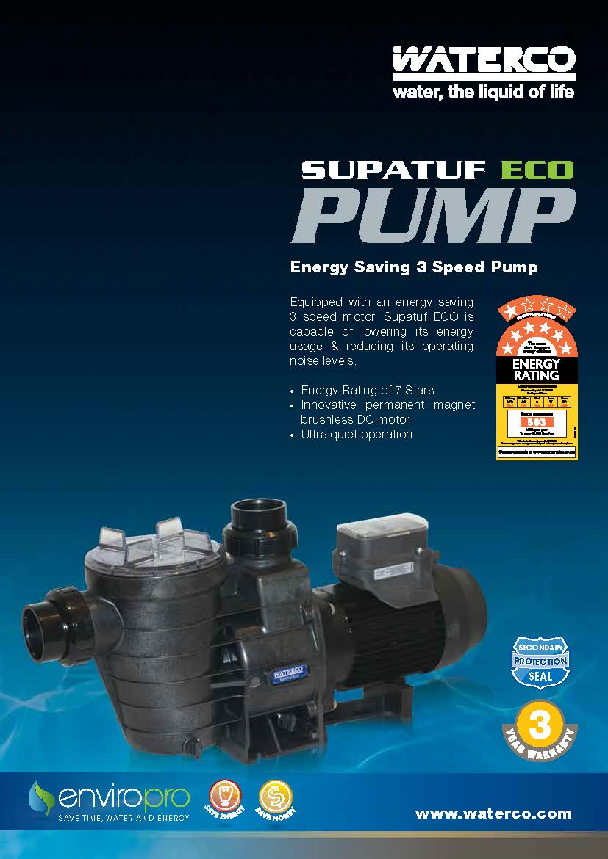 ปั๊มสระว่ายน้ำWaterco Hydrostorm Plus2hp
