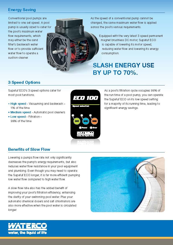 ปั๊มสระว่ายน้ำWaterco  Hydrostorm Plus