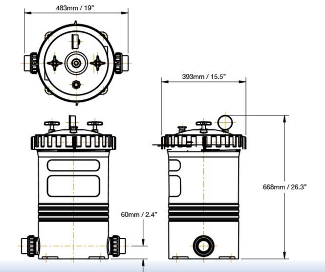 Waterco Opal 135